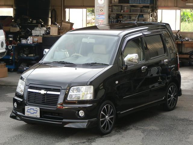シボレー 上級グレード本革シート 後期専用カラー最終モデル ナビTV
