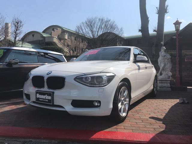 BMW 116i ワンオーナー 禁煙車 ポータブルナビ ワンセグ