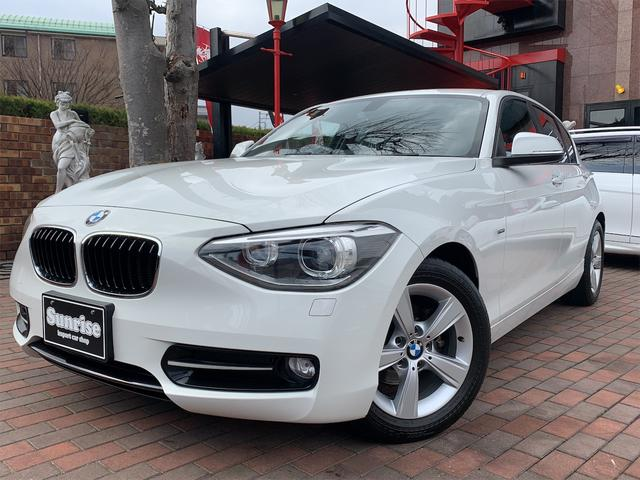 BMW 1シリーズ 116i スポーツ ナビパッケージ 正規ディーラー車 プッシュエンジンスタート HDDナビ 音楽サーバー キセノンヘッドライト 専用スポーツシート&専用アルミ アイドリングストップ