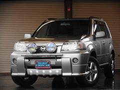 エクストレイルGTターボ エアロ ナビ 4WD
