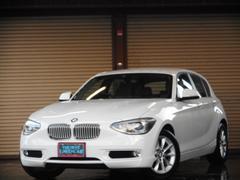 BMW116iスタイル ワンオーナー 純正HDDナビ キセノン