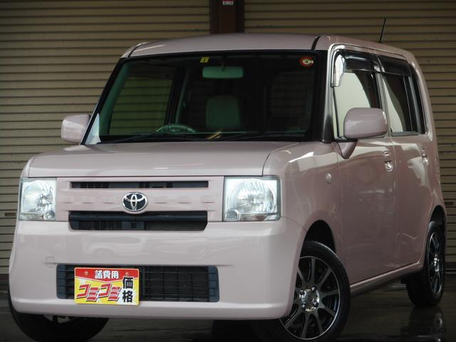 トヨタ L 純正SDナビ・フルセグ・DVD再生 アイドリングストップ キーレス社外14インチアルミ