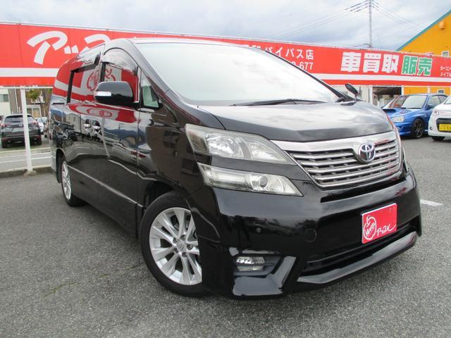 トヨタ 2.4Z プラチナムセレクション 7人乗り 純正HDDナビ