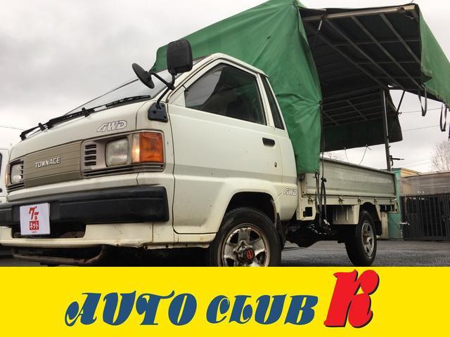 トヨタ 4WD 5速マニュアル ワンオーナー パワステ 三点開き幌