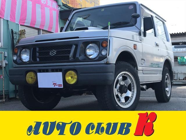 スズキ ワイルドウインド 4WD ターボ エアコン パワステ AT
