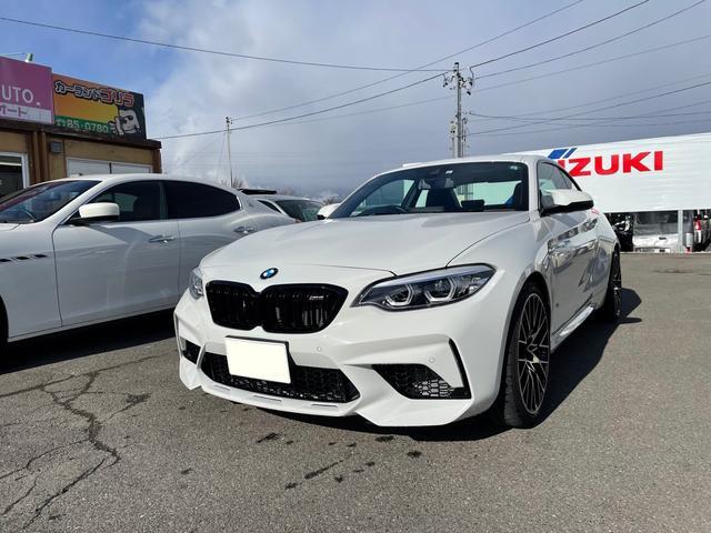 BMW M2 コンペティション 走行9094キロ 革パワーシート ディーラー車 右ハンドル スマートキー HDDナビバックカメラ ETC