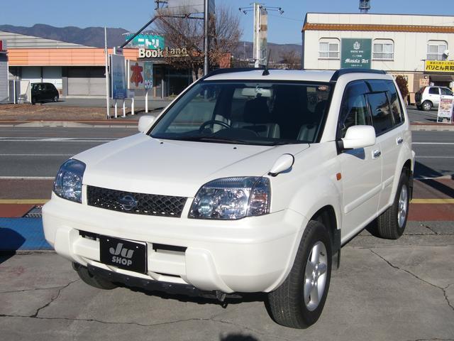 日産 Xt 4WD キセノンライト カブロンシート