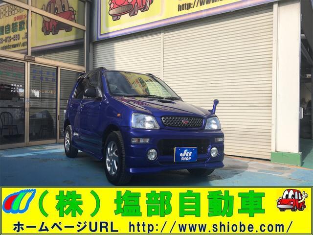 ダイハツ エアロダウン 4WD ターボ 5速MT 15インチアルミ