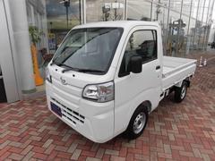 ハイゼットトラックスタンダード 4WD オートマ車 登録届出済未使用車