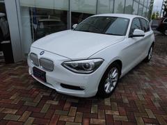 BMW116i スタイル 純正ナビ Rカメラ ETC 半革シート
