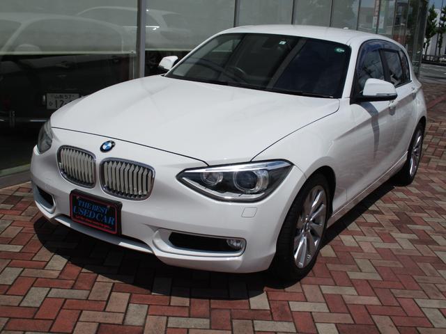 BMW 1シリーズ 120iスタイル1.6ターボ純正ナビRカメラキセノンライト