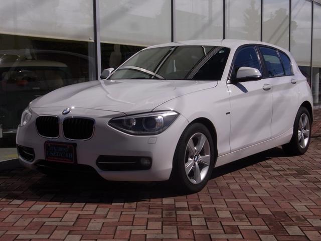 BMW 116i スポーツ /HID/禁煙車/前後ドライブレコーダー/パワーシート/ETC/オートエアコン/オートワイパー/車検令和4年7月