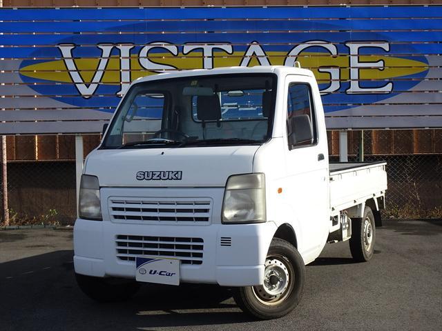 スズキ KCエアコン・パワステ 地域限定車 4WD ロングラン保証