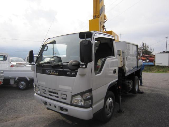 いすゞ 高所作業車 4WD ディーゼル車