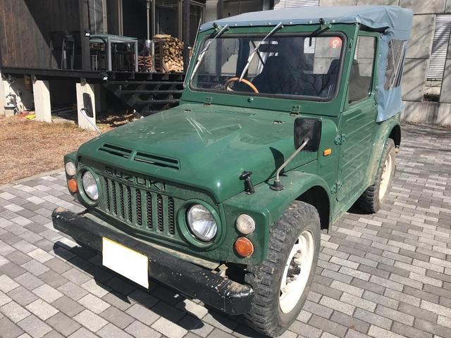 スズキ 幌タイプ 4WD 4速MT