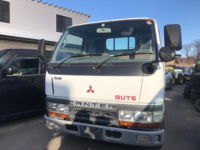 三菱ふそう ガッツ 4WD 5速マニュアル 3名乗り ホワイト