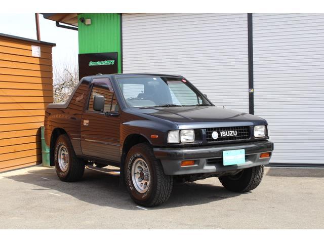 いすゞ ハードカバー 4WD 5速MT ワンオーナー車