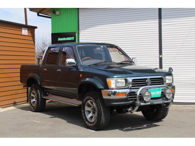 「トヨタ」「ハイラックスピックアップ」「SUV・クロカン」「長野県」の中古車