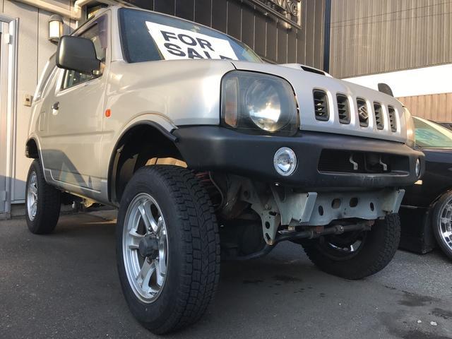 スズキ XC 4WD LEDヘッドライト リフトUP ETC車載器