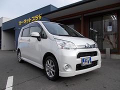 ムーヴカスタムX 4WD ワンオーナー 純正ナビ&TV ETC