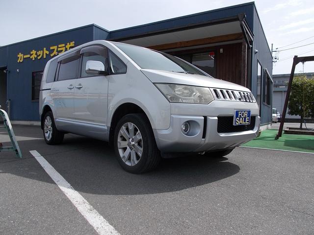 三菱 シャモニー 4WD 7人乗り HDDナビ ETC