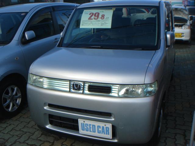 ホンダ ベースグレード 4WD コラムAT CD 電動格納ドアミラー