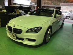 BMW640iグランクーペ サンルーフ LEDヘッドライト レザー