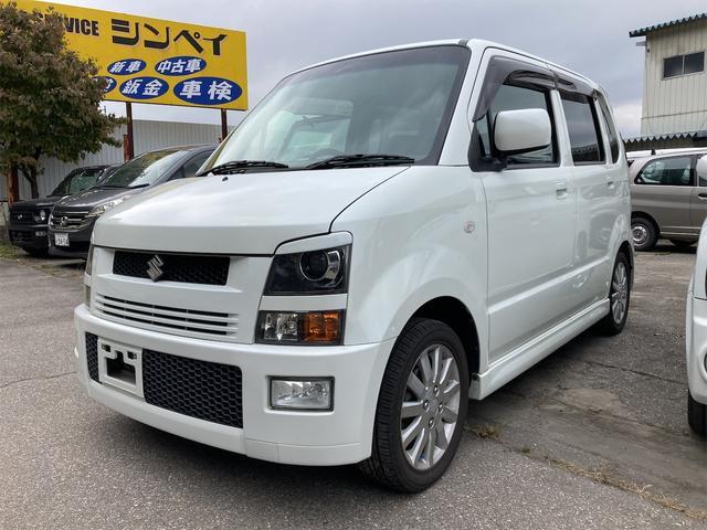 スズキ RR-DI 4WD MD+CDオーディオ セキュリティアラーム 14インチアルミ 走行87645キロ