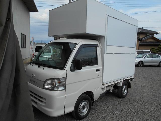 ダイハツ エアコン・パワステ スペシャル 移動販売車 ツインシンク