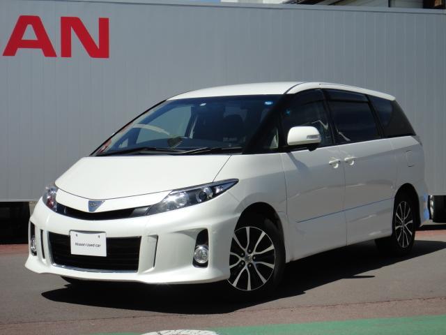 トヨタ アエラス 4WD 両側パワスラ 社外ナビツインモニタ-