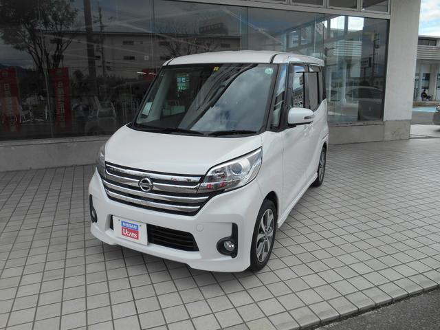 日産 ハイウェイスター ターボ・4WD・社外メモリ-ナビ・キセノン