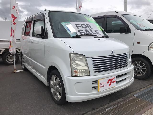 スズキ FT-Sリミテッド 軽自動車 パールホワイト キーレス