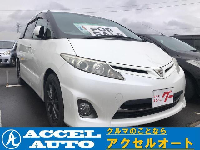 トヨタ アエラス キーフリー SDナビワンセグ Rモニター ETC付