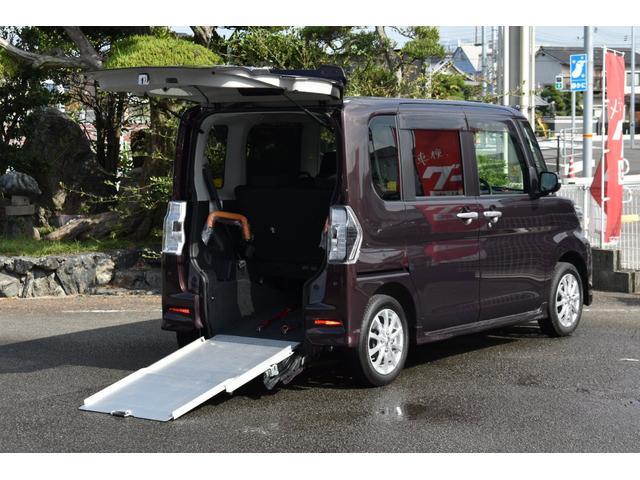 ダイハツ カスタムX SAIII 福祉車両スローパー 禁煙 ナビTV