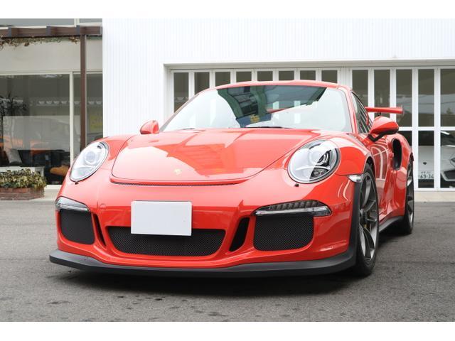 ポルシェ 911 911GT3 RS 正規ディ−ラ−車 (検31.8)