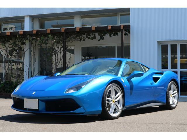 フェラーリ ベースグレード OP590 実走行330キロ 正規ディ-ラ-1オ-ナ-車