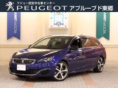 プジョー 308SW GT ブルーHDi 元試乗車 純正ナビ 新車保証継承