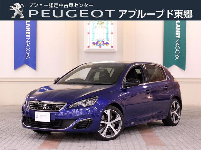 プジョー GT ブルーHDi 元試乗車 LEDライト 新車保証継承