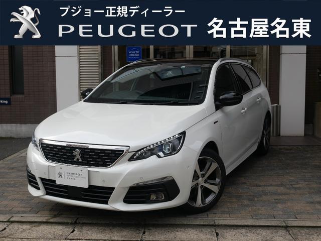 プジョー SW GT LINE BlueHDi 純正ナビ&ドラレコ付