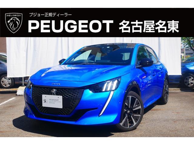 プジョー GTライン ガラスルーフ 純正ナビ付き 正規認定中古車