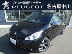 プジョー 208GTi 新車保証継承 認定中古車 元試乗車 ドラレコ付