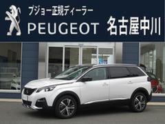プジョー 5008アリュール 認定中古車 新車保証継承 ナビ付 ドラレコ付
