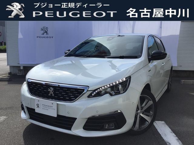 プジョー GTライン ブルーHDi 特別仕様車 8速AT 元試乗車