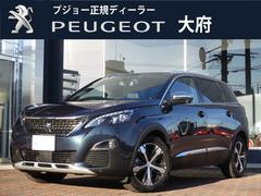 プジョー 5008GTブルーHDi元試乗車/8AT/純正ナビ/ドラレコ/ACC