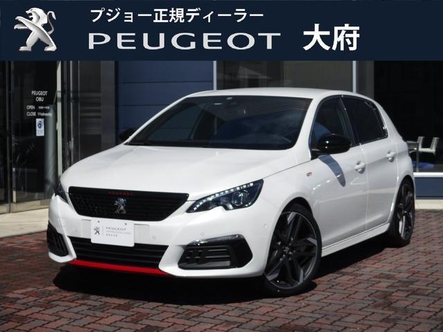 プジョー GTi byプジョースポール/元試乗車/純正ナビ/6速MT