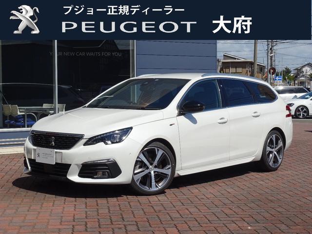 プジョー SW GT ブルーHDi 8AT 元試乗車 新車保証継承