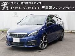 プジョー 308SWGT ブルーHDi8AT 元試乗車 ガラスルーフ ACC