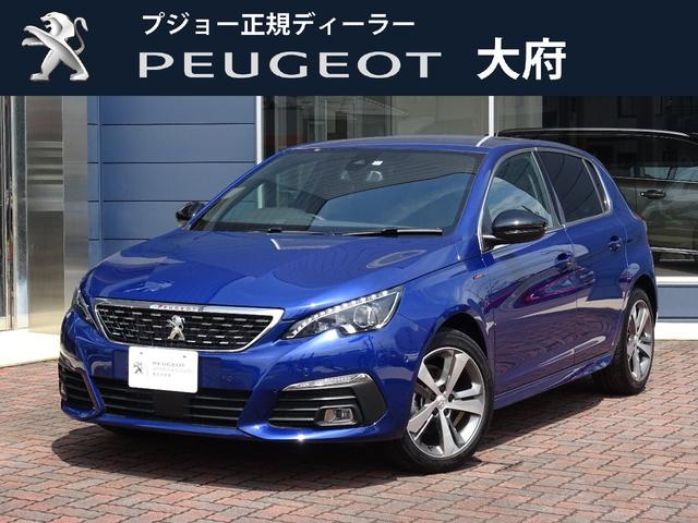 プジョー GTラインブルーHDi 限定車 ディーゼル 元試乗車 ACC
