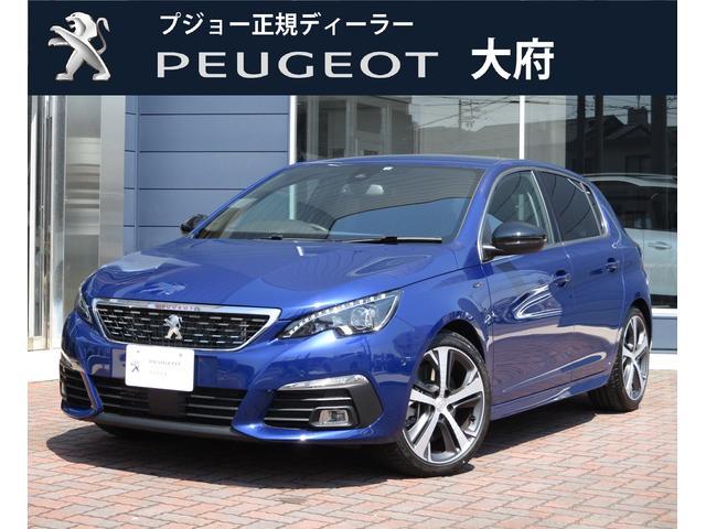プジョー GT ブルーHDi 元試乗車 新車保証継承 バッカメ ACC