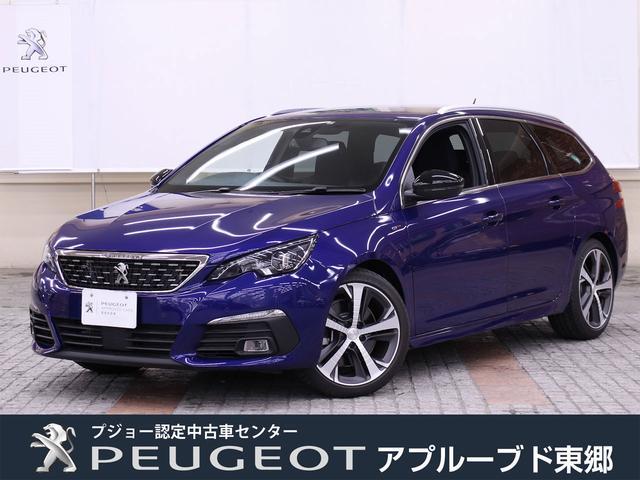 プジョー SW GT ブルーHDi 元試乗車 新車保証継承 8AT